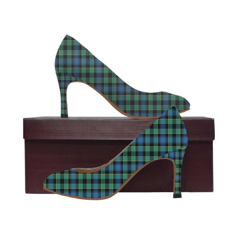 Mouat Tartan Women High Heels
