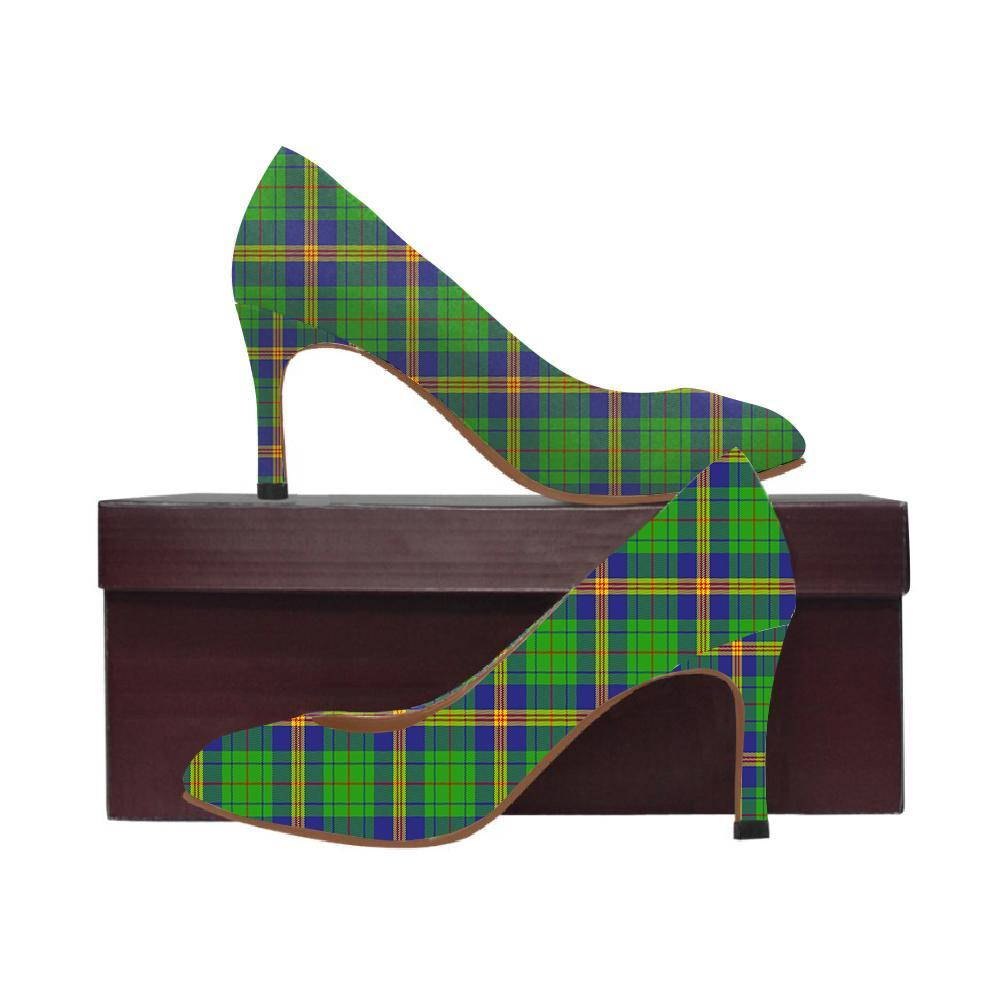 Newman Tartan Women High Heels