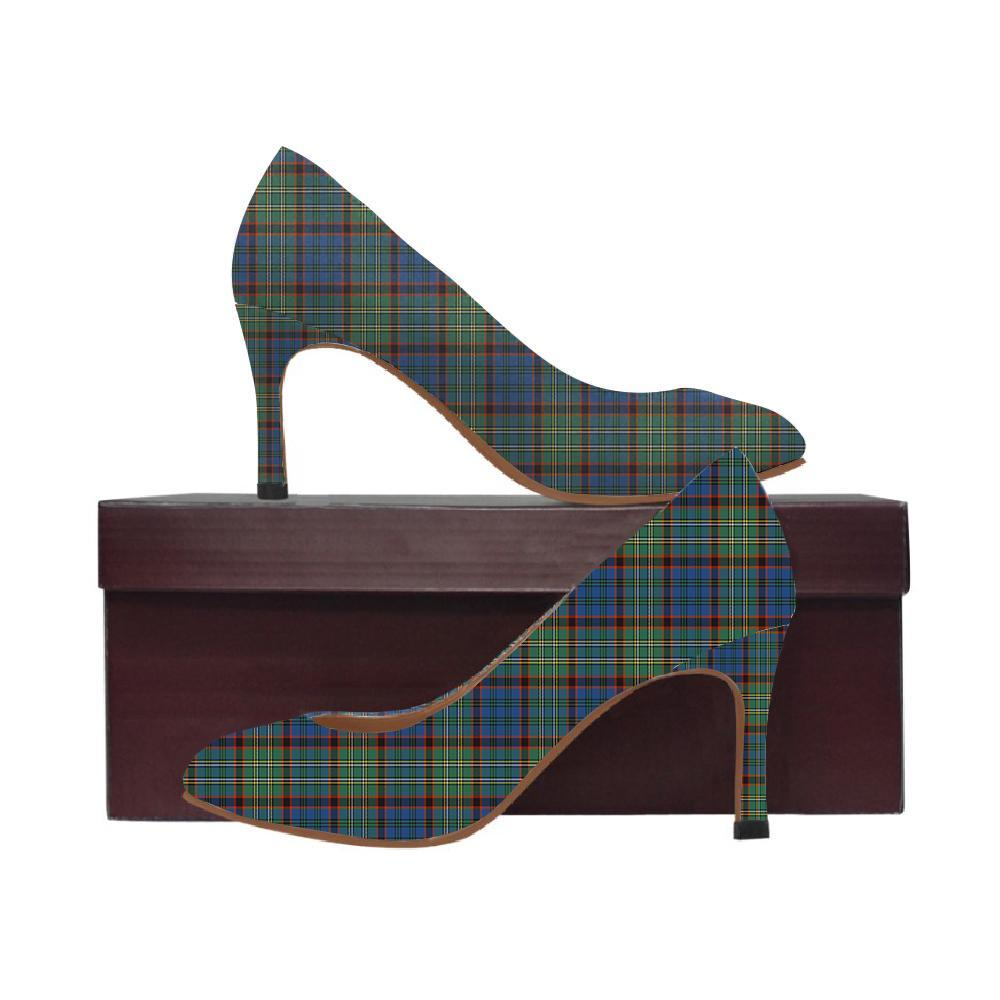Nicolson Hunting Ancient Tartan Women High Heels