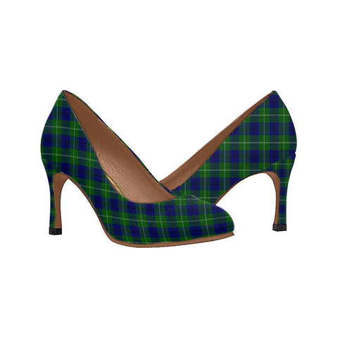 Image of Oliphant Modern Tartan Women High Heels