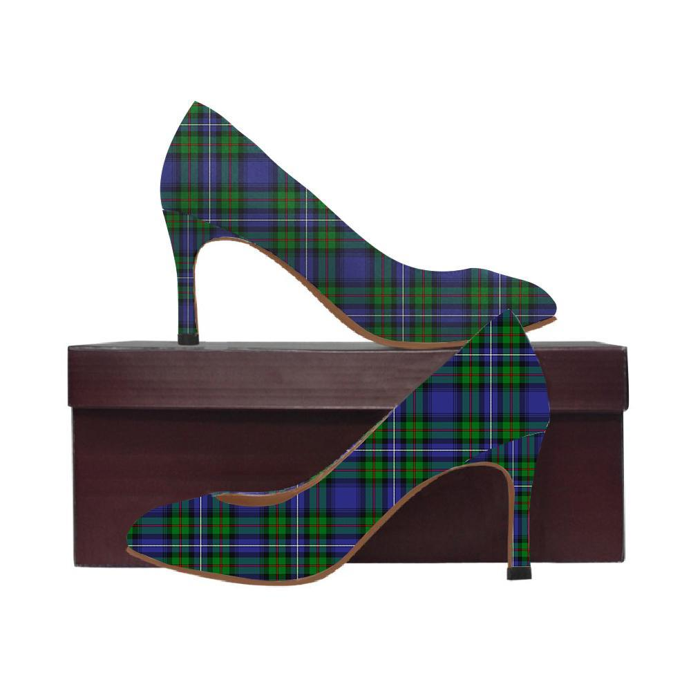Robertson Hunting Ancient 02 Tartan Women High Heels