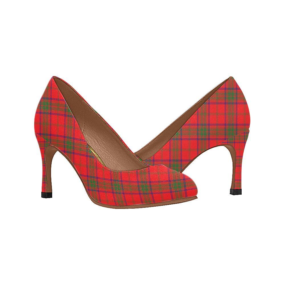Rose Hunting Ancient Tartan Women High Heels