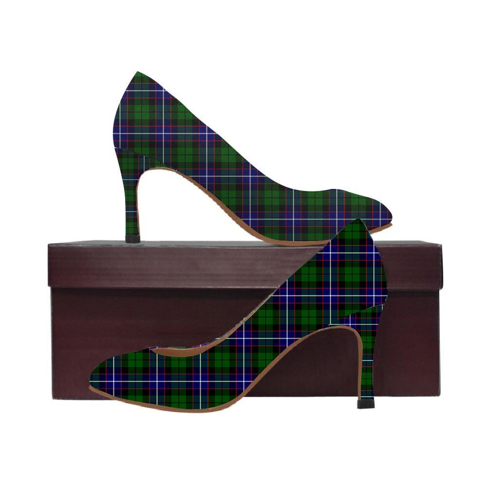 Russell Tartan Women High Heels