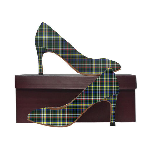 Image of Scott Green Modern Tartan Women High Heels