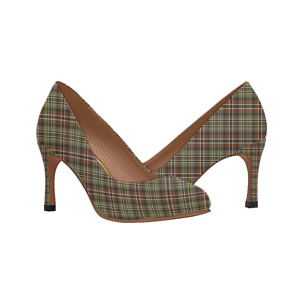 Scott Green Weathered Tartan Women High Heels