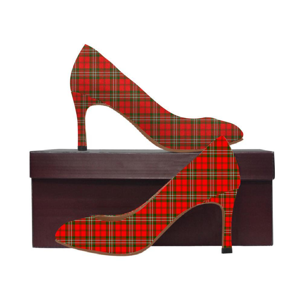 Scott Modern Tartan Women High Heels