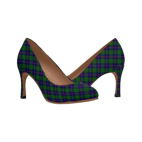 Image of Shaw Modern Tartan Women High Heels