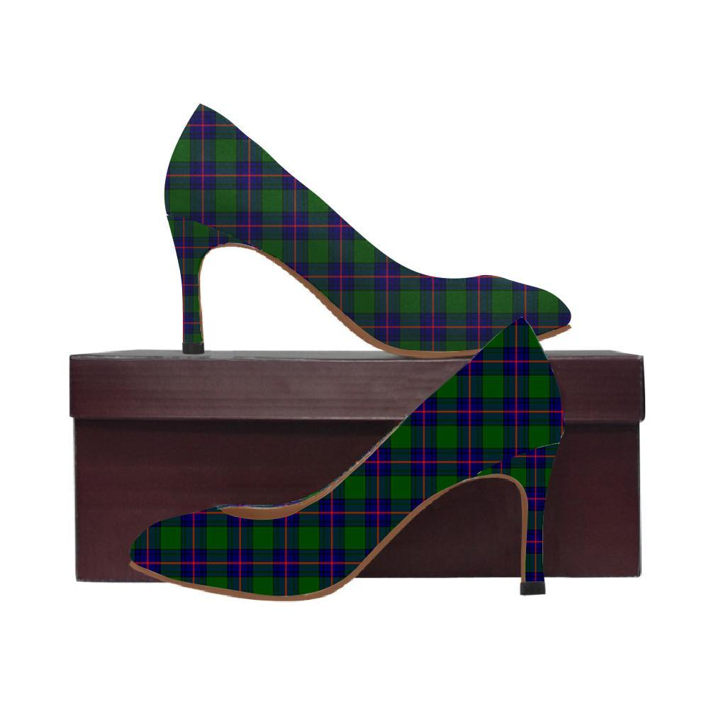 Shaw Modern Tartan Women High Heels