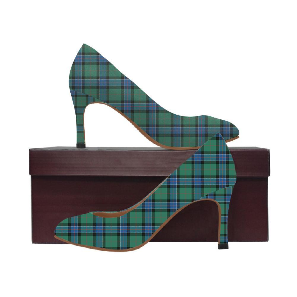Sinclair Hunting Ancient Tartan Women High Heels