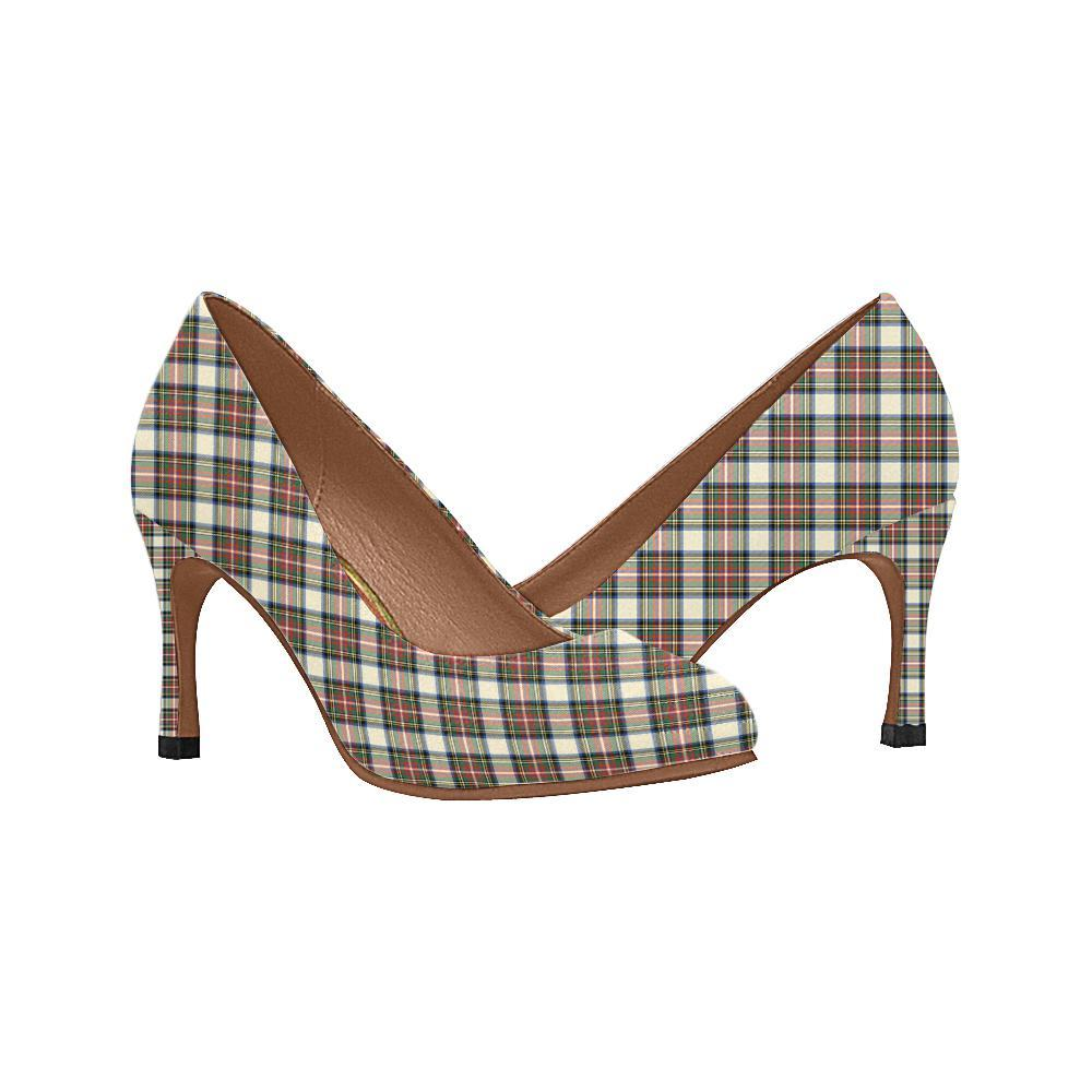 Stewart Dress Ancient Tartan Women High Heels