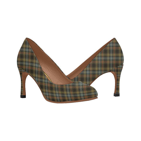 Image of Stewart Hunting Weathered Tartan Women High Heels