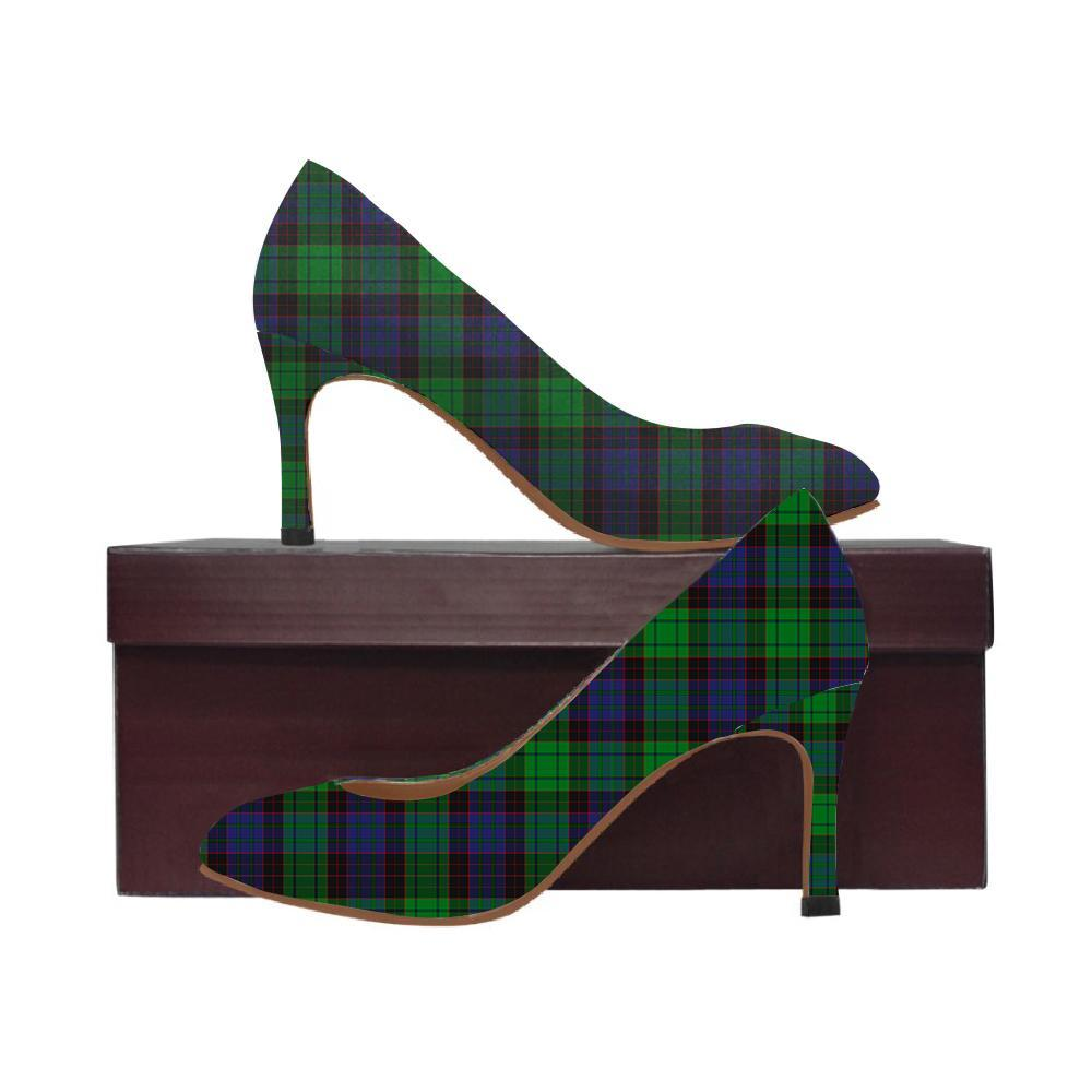 Stewart Old Modern Tartan Women High Heels
