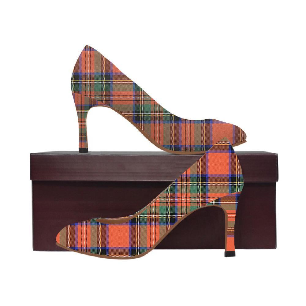 Stewart Royal Ancient Tartan Women High Heels