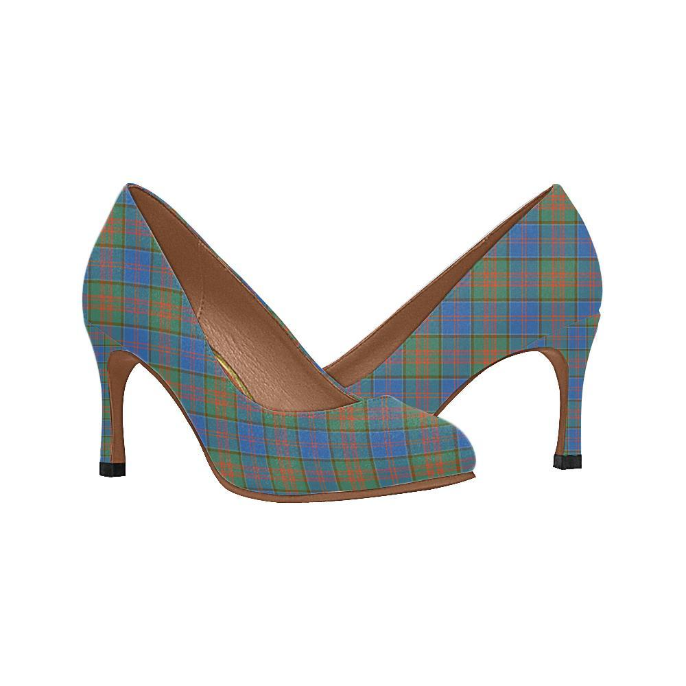 Stewart Of Appin Hunting Ancient Tartan Women High Heels