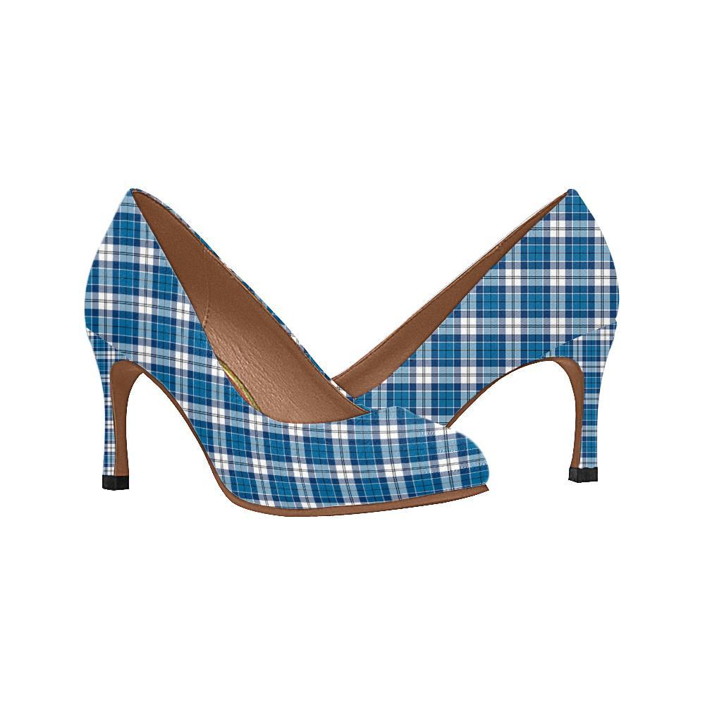 Strathclyde District Tartan Women High Heels