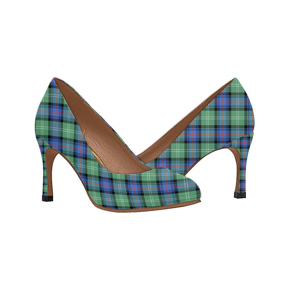 Sutherland Old Ancient Tartan Women High Heels