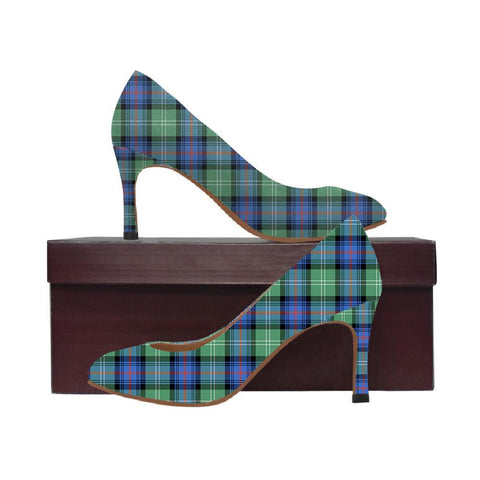 Image of Sutherland Old Ancient Tartan Women High Heels
