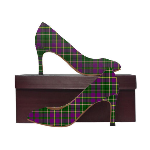 Image of Taylor Weathered Tartan Women High Heels