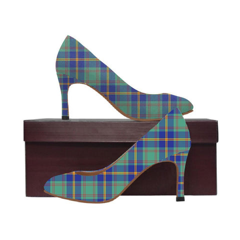 Image of Us Marine Tartan Women High Heels