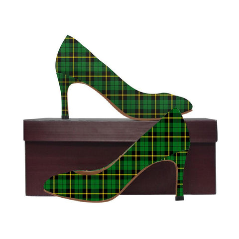 Image of Wallace Hunting - Red Tartan Women High Heels