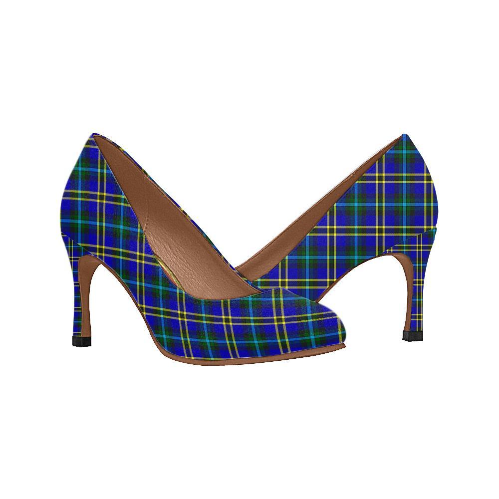 Weir Modern Tartan Women High Heels