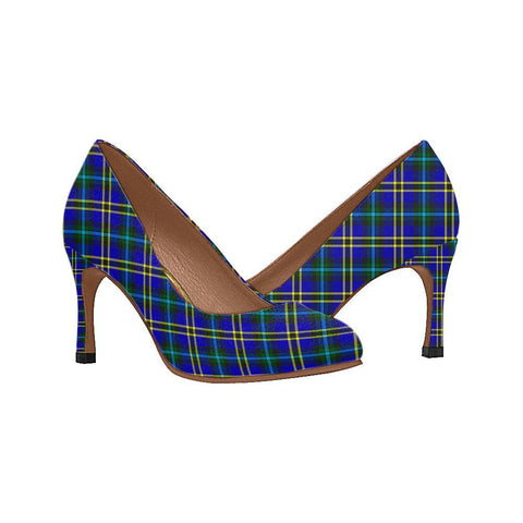 Image of Weir Modern Tartan Women High Heels
