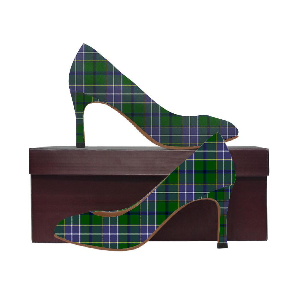 Wishart Hunting Tartan Women High Heels