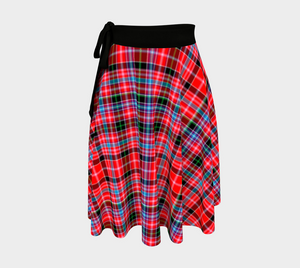 Aberdeen District Tartan Wrap Skirt