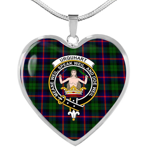 Image of Urquhart  Clan Badge Tartan Necklace