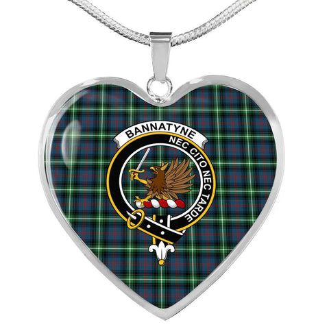 Bannatyn Clan Badge Tartan Necklaces