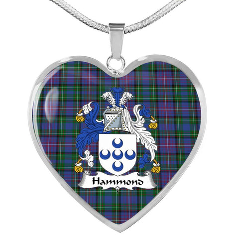 Image of Hammond Clan Badge Tartan Necklaces