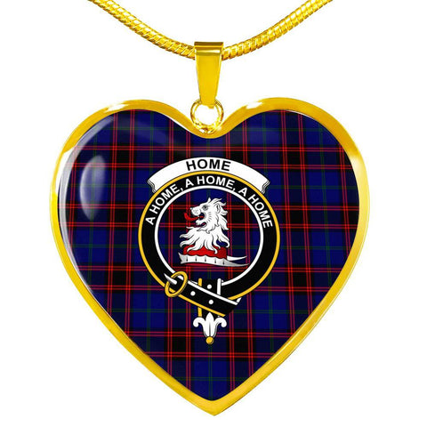 Image of Home Modern Clan Badge Tartan Necklaces