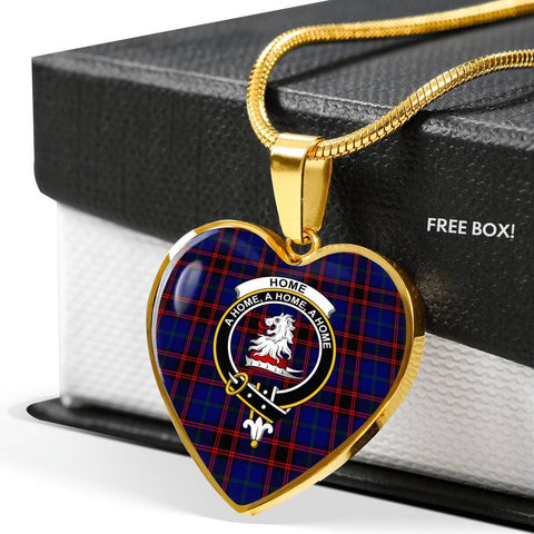 Home Modern Clan Badge Tartan Necklaces