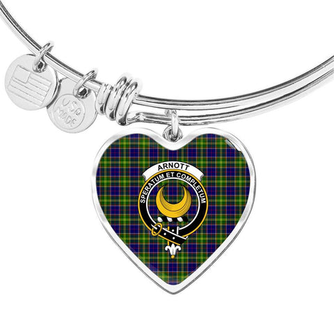 Arnott  Clan Badge Tartan Bangle