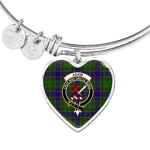 Adam  Clan Badge Tartan Bangle