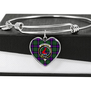 Armstrong   Clan Badge Tartan Bangle