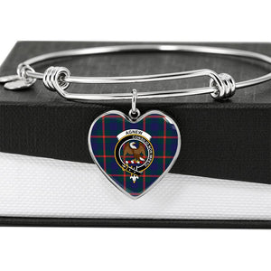 Agnew   Clan Badge Tartan Bangle