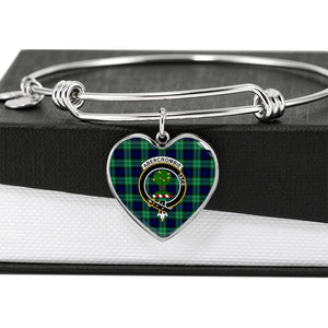 Abercrombie  Clan Badge Tartan Bangle