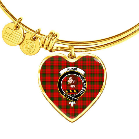 Adair  Clan Badge Tartan Bangle