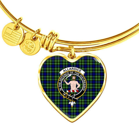 Allardice  Clan Badge Tartan Bangle