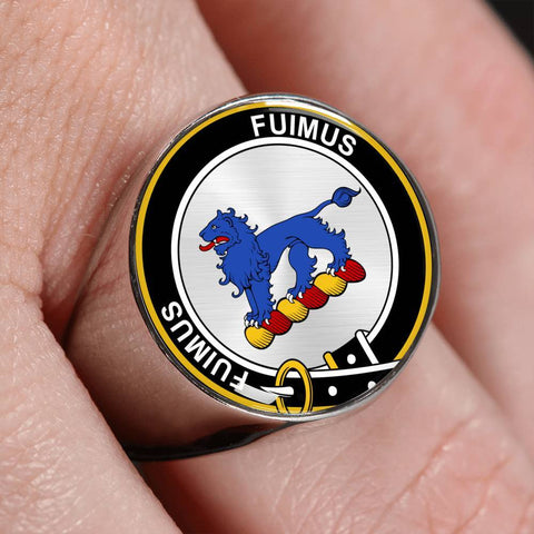 Bruce Clan Badge Rings