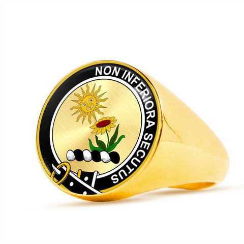 Buchan Clan Badge Rings