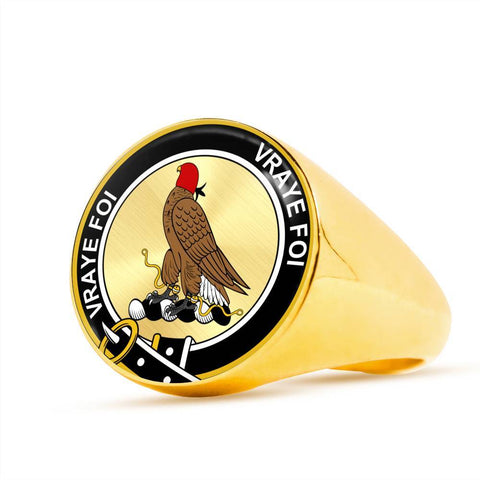 Boswell Clan Badge Rings
