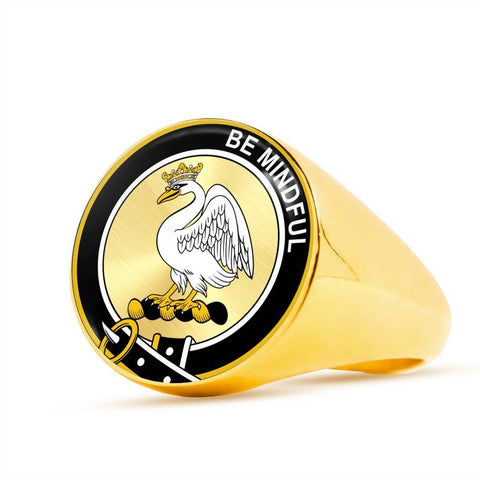 Calder (Calder-Campbell) Clan Badge Rings