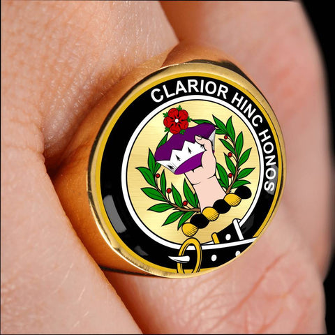 Buchanan Clan Badge Rings