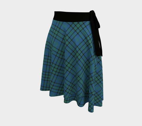Image of Matheson Hunting Ancient Tartan Wrap Skirt
