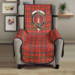 Bain Clan Badge Tartan Sofa Protector