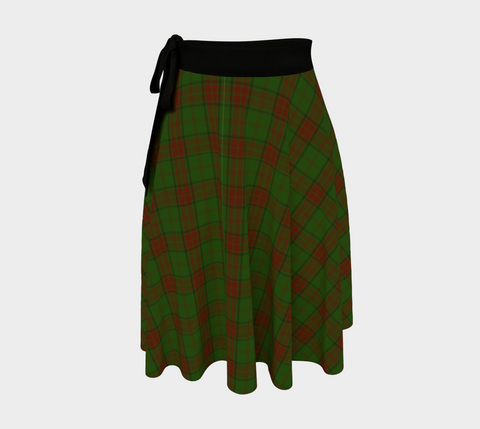 Image of Maxwell Hunting Tartan Wrap Skirt