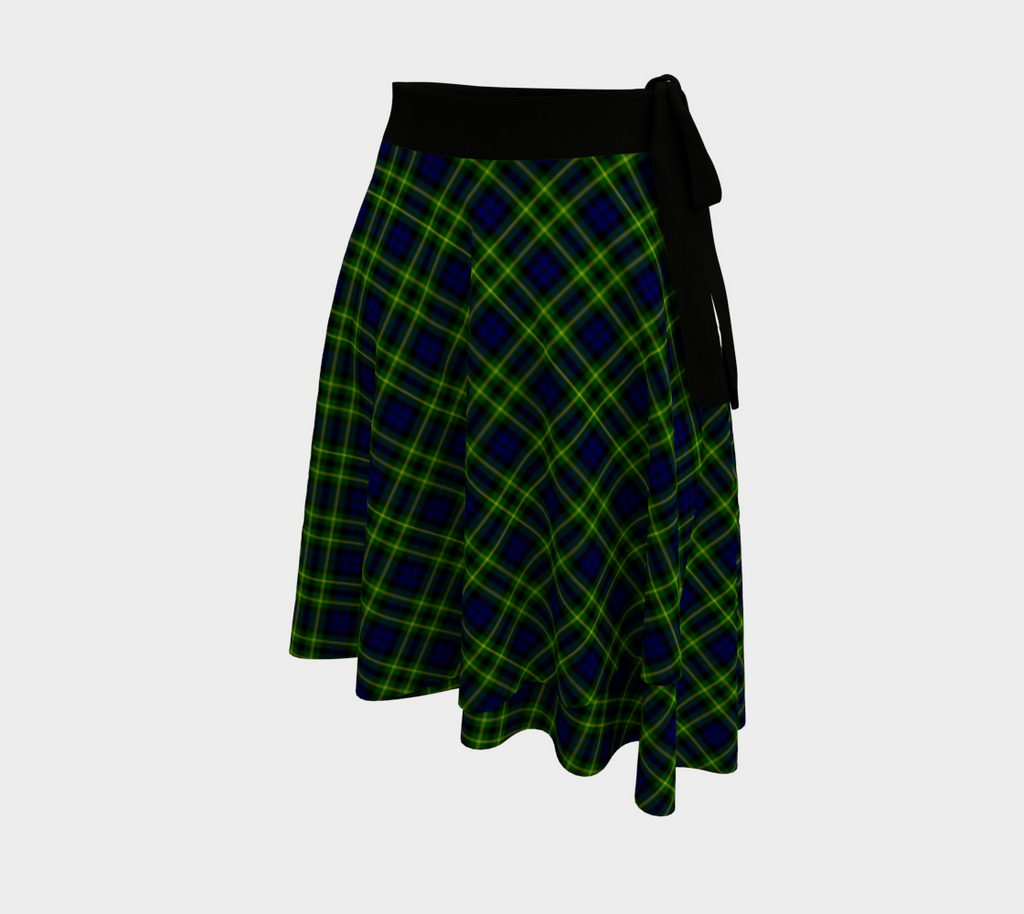 Campbell of Breadalbane Modern Tartan Wrap Skirt