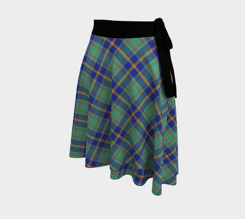 Image of US Marine Tartan Wrap Skirt